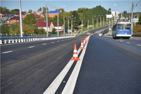 Олег Николаев запустил движение по обновленному Сугутскому мосту и оценил качество ремонтных работ на проспекте Ивана Яковлева в Чебоксарах