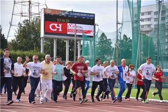 В день рождения летчика-космонавта Андрияна Николаева в Чебоксарах состоялся спортивный праздник