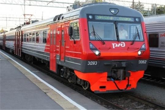 Внесены изменения в порядок курсирования пригородных поездов № 6491 Алатырь – Красный Узел и № 6492 Красный Узел - Алатырь