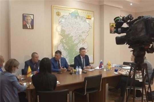 Брифинг на тему перевозок пассажиров по маршруту «Чебоксары – Новочебоксарск»