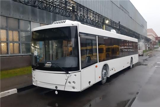 В Чувашию прибыл первый новый троллейбус