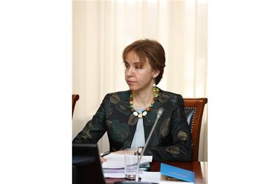 И.о. министра труда и социальной защиты Чувашской Республики Алена Елизарова