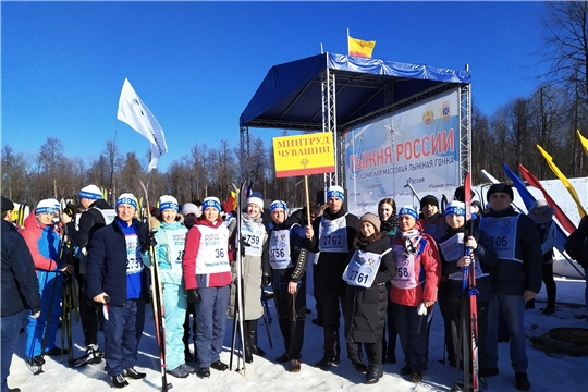 Команда Минтруда Чувашии присоединилась к стартам «Лыжня России-2020»