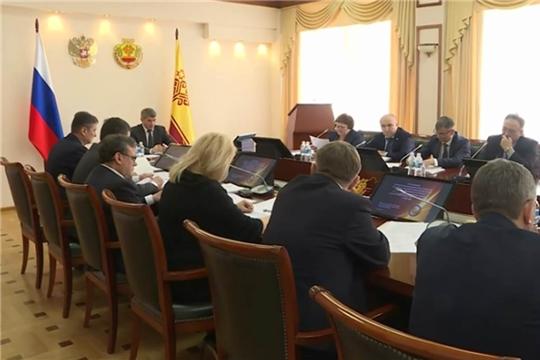 Кабинет Министров Чувашии рассмотрел изменения в республиканский бюджет