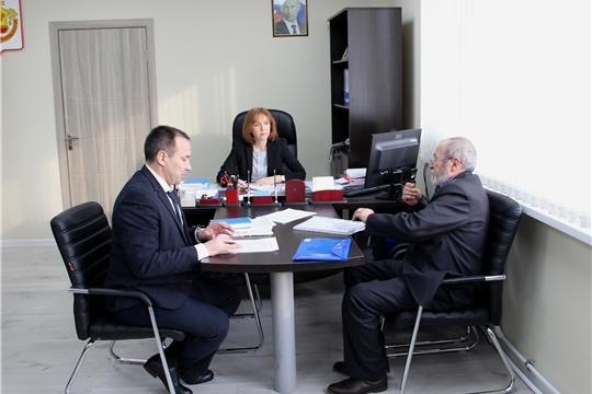 И. о. министра Алена Елизарова провела приём граждан по личным вопросам