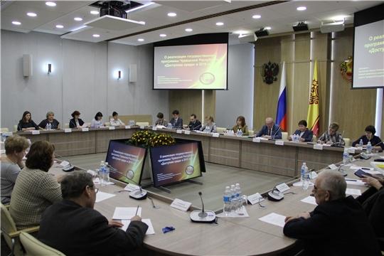Заседание Совета при Главе Чувашской Республики по делам инвалидов
