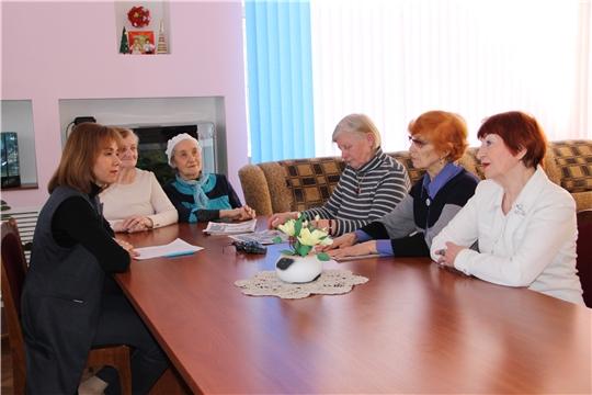 Встреча с пожилыми людьми в комплексном центре социального обслуживания населения г. Чебоксары