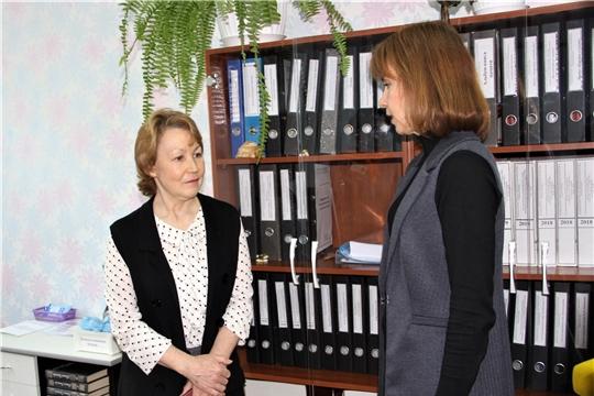 Руководитель Минтруда Чувашии Алена Елизарова провела проверку соблюдения ограничительного режима в подведомственных организациях