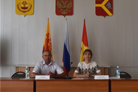 Министр труда и социальной защиты Алена Елизарова посетила Аликовский, Вурнарский и Красноармейские районы
