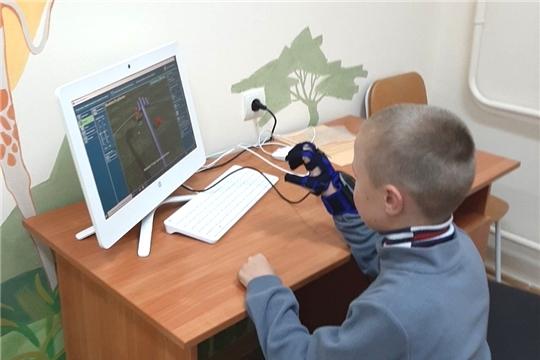 В столичном реабилитационном центре для детей внедрена новая реабилитационная технология - перчатка «Аника»