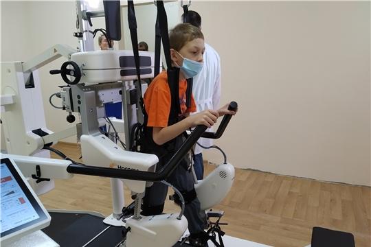 За 9 месяцев текущего года более 200 детей с двигательными нарушениямипрошли курс физической реабилитации
