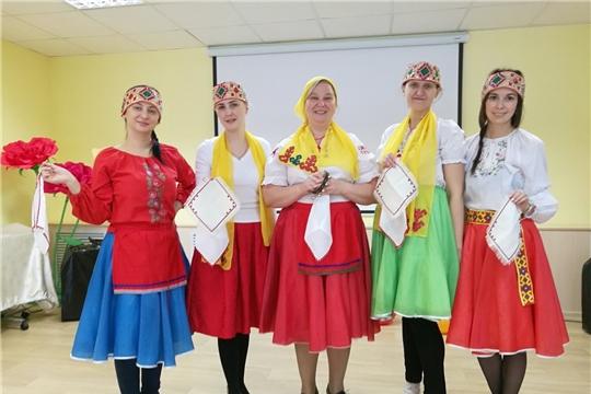 Организации социального обслуживания  приняли участие в праздновании Дня чувашской вышивки
