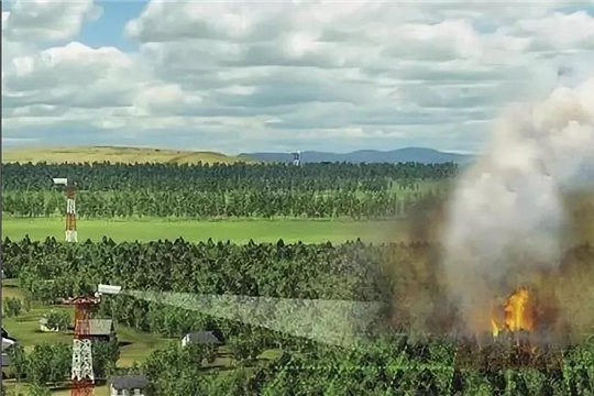 Для раннего обнаружения лесных пожаров госучреждениям, подведомственных Минприроды Чувашии, передано имущество