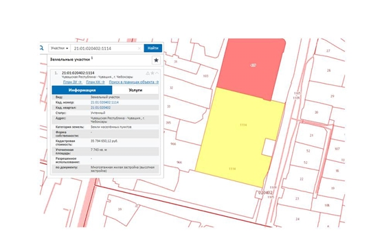 Единый информационный ресурс дополнен новыми земельными участками для жилищного и инвестиционного строительства