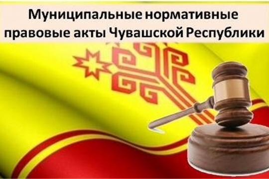 В регистр муниципальных НПА Чувашской Республики включены более 125,4 тысячи актов