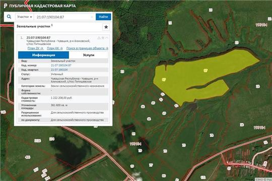 Предлагаем свободные земельные участки для обеспечения сельхозпроизводства, расположенные  в Аликовском районе