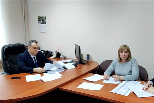 В Госслужбе Чувашии по делам юстиции обсуждены вопросы  выгрузки записей актов гражданского состояния в ЕГР ЗАГС