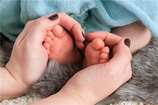 В Калининском районе зарегистрирован 700-й новорождённый 2020 года