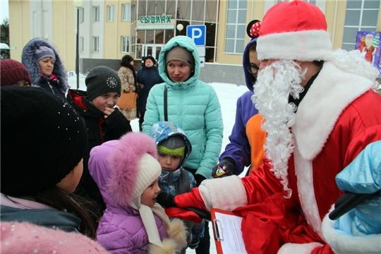 Новогодние чудеса продолжаются: состоялось театрализованное представление  для детей