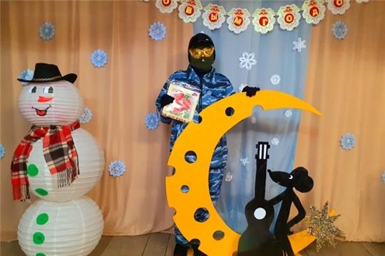 """Бал - маскарад в Б. Токшикском СК """" Новый год как в кино"""""""