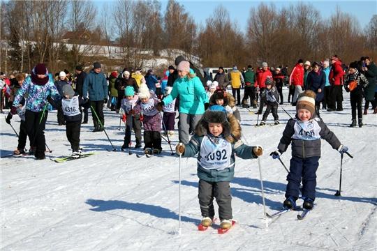Жители Моргаушского района приняли участие на «Лыжне России – 2020»: «на лыжню - за здоровьем, прекрасным настроением»