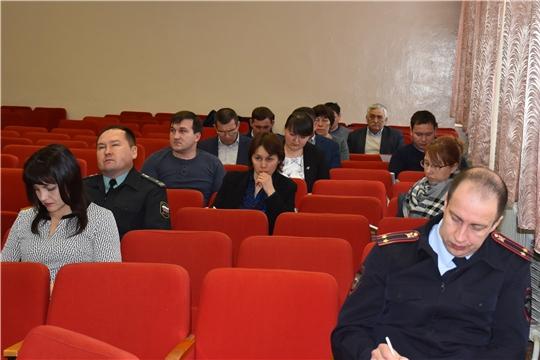 Состоялось заседание Комиссии по профилактике правонарушений в Моргаушском районе