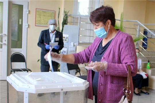 На 15 часов в Моргаушском районе проголосовало 83,91 % избирателей, включенных в списки избирателей