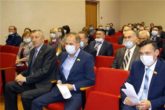 Сегодня состоялось первое заседание Моргаушского  районного  Собрания  депутатов седьмого созыва
