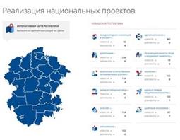 Реализация национальных проектов в Чувашской Республике