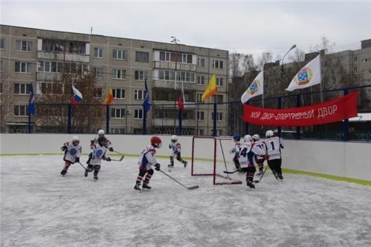 Активный отдых: в Московском районе г. Чебоксары подготовлено 10 катков, 10 хоккейных коробок и 8 лыжных трасс