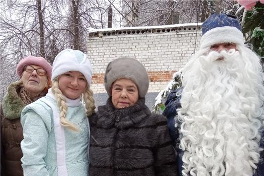 В ТОС Московского района г. Чебоксары продолжаются мероприятия, приуроченные к празднованию Нового года и Рождества