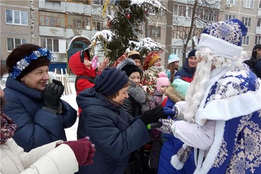 В ТОС Московского района г. Чебоксары завершились новогодние и рождественские праздники