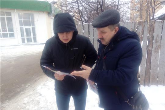 В частном секторе Московского района г. Чебоксары проводится работа по усилению мер пожарной безопасности