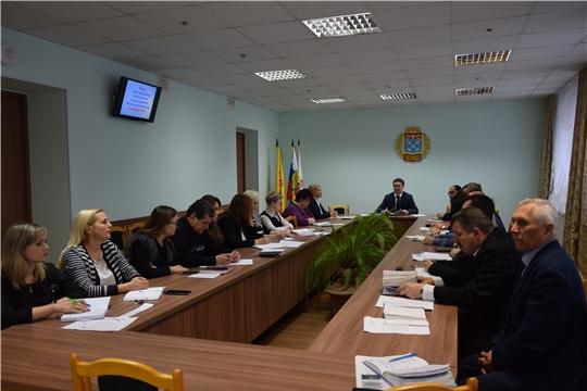 В администрации Московского района г. Чебоксары проведена первая в этом году планёрка с руководителями структурных подразделений