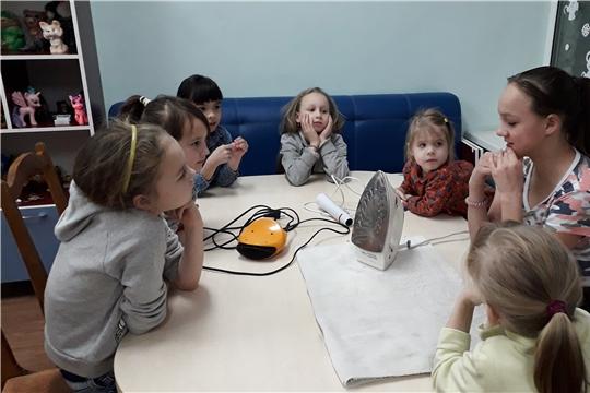 Из уст – в уста: для детей Московского района г. Чебоксары провели мини-урок о правилах пожарной безопасности