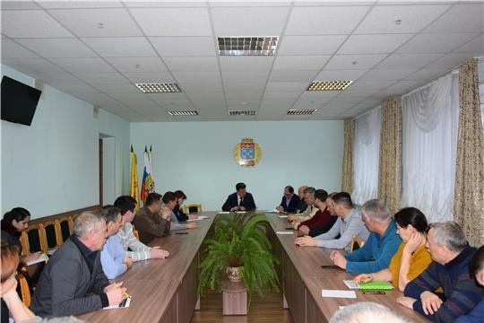 Об инициативном бюджетировании и зимнем содержании – с руководителями управляющих компаний Московского района