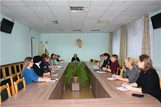 Субъекты профилактики Московского района г. Чебоксары подвели итоги прошлого года и обсудили совместные планы работы