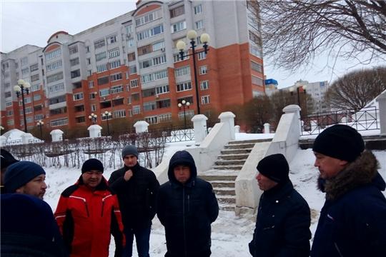 В Московском районе г. Чебоксары специальная комиссия проверила территорию на предмет благоустройства