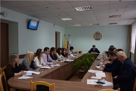 В администрации Московского района г. Чебоксары проведено совещание с руководителями структурных подразделений