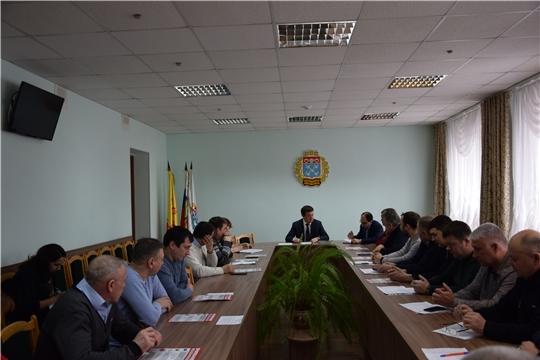 Вопросы зимнего содержания рассмотрели в администрации Московского района г. Чебоксары