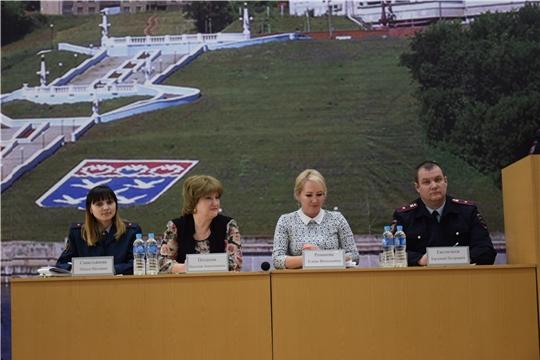 В Московском районе г. Чебоксары состоялось расширенное заседание комиссии по делам несовершеннолетних и защите их прав