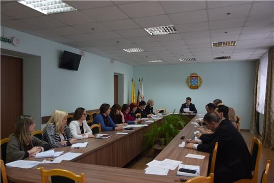 В администрации Московского района г. Чебоксары обсудили план мероприятий в рамках празднования юбилейных дат