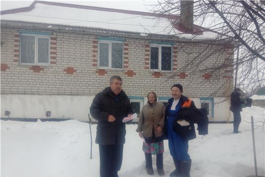 С жителями улицы Заовражная побеседовали о пожарной безопасности в жилом секторе