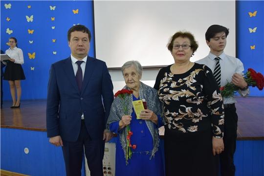 Ветеранам Московского района г. Чебоксары вручены юбилейные медали «75 лет Победы в Великой Отечественной войне 1941-1945 гг.»