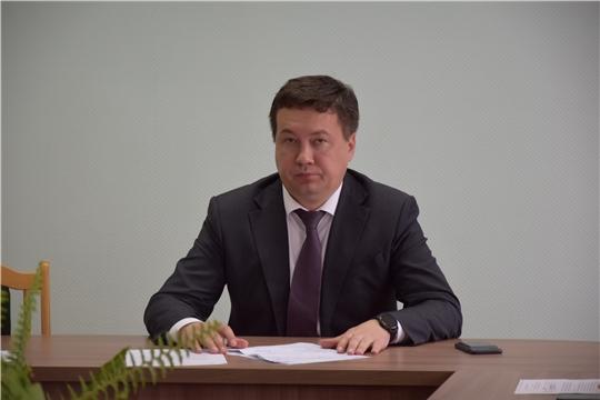 В администрации Московского района г. Чебоксары проведена еженедельная планерка с руководителями структурных подразделений