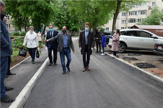 До 10 июля в чебоксарских дворах проведут ремонт дорог