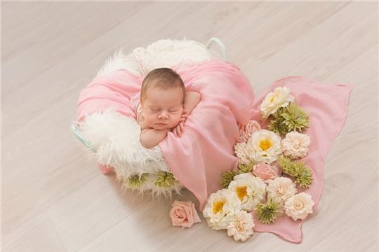В отделе ЗАГС администрации Московского района г. Чебоксары зарегистрирован 1000-ый новорожденный