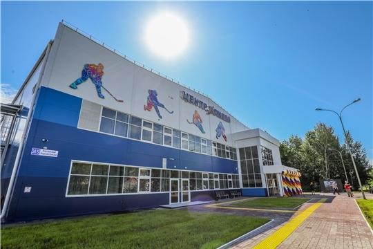 Олег Николаев посетил региональный центр по хоккею