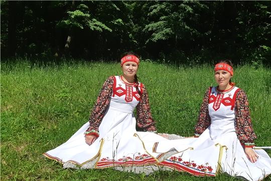 В честь 100-летия Чувашской автономии организовано дефиле национального костюма