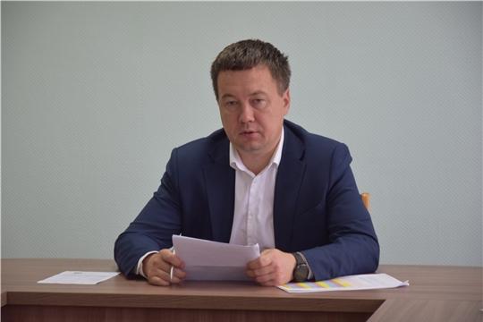 В администрации Московского района г. Чебоксары проведена планерка с руководителями структурных подразделений
